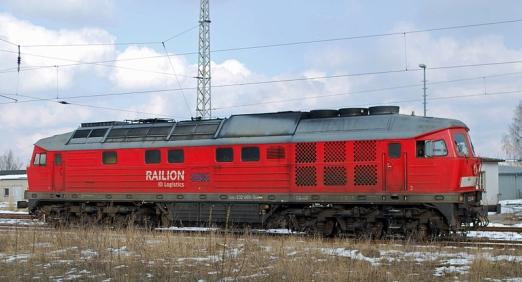 Deutsche Bahn - steht sonst nur grundlos rum