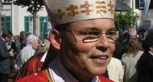 Freut sich auf seine neue Aufgabe als Papst - Tebartz van Elst